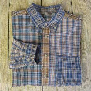 UNIQLO Multiple Plaid, Botton-Down, Shirt